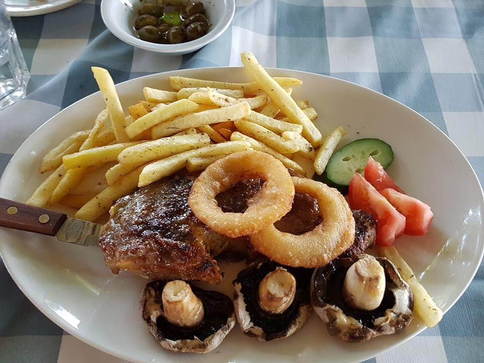 Yialos Beach Grill House.