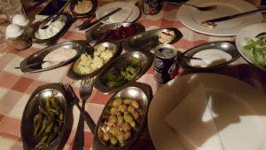 טברנה יוונית - מזה צימחוני