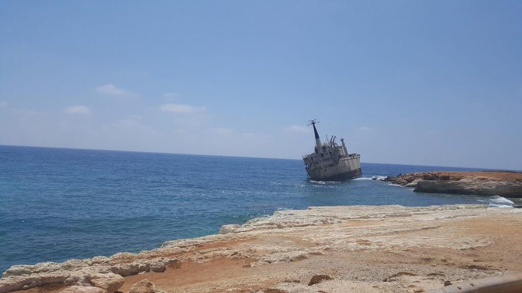 הספינה הטרופה בפאפוס