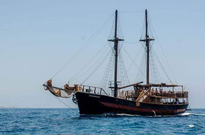 שיט בספינת פיראטים